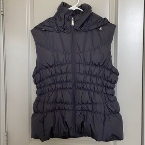 Michael Kors Down Puffer Vest with Hood